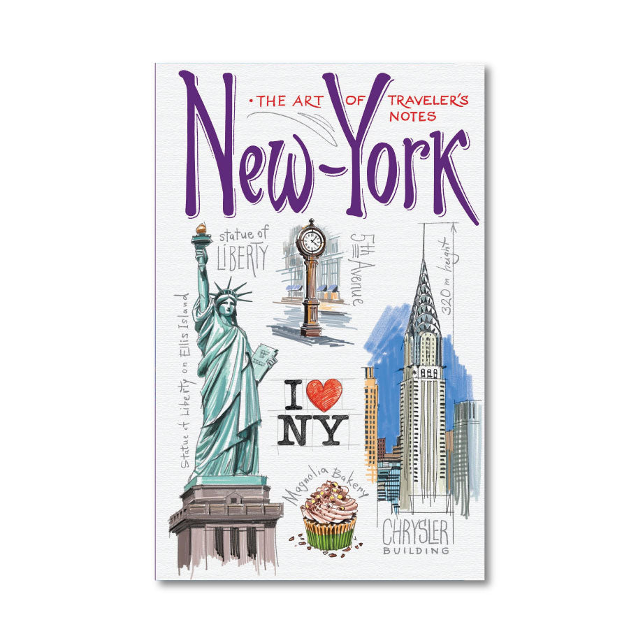 Traveler's Sketchbook: New York