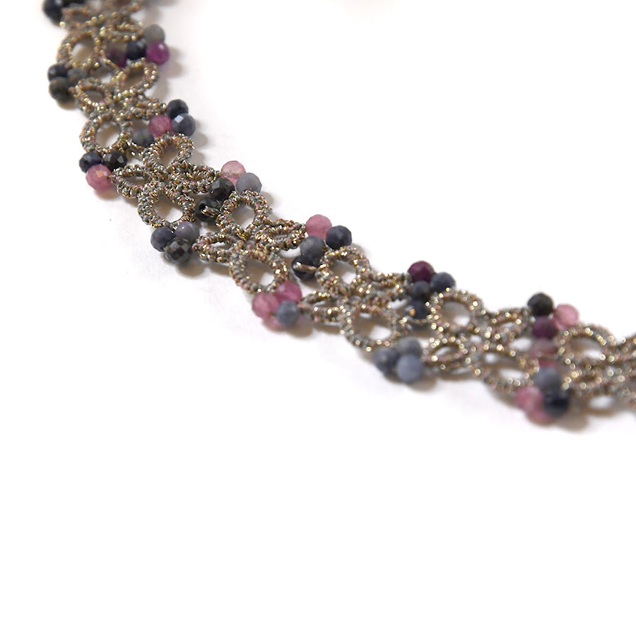 Lace Necklace: Olla in Tourmaline