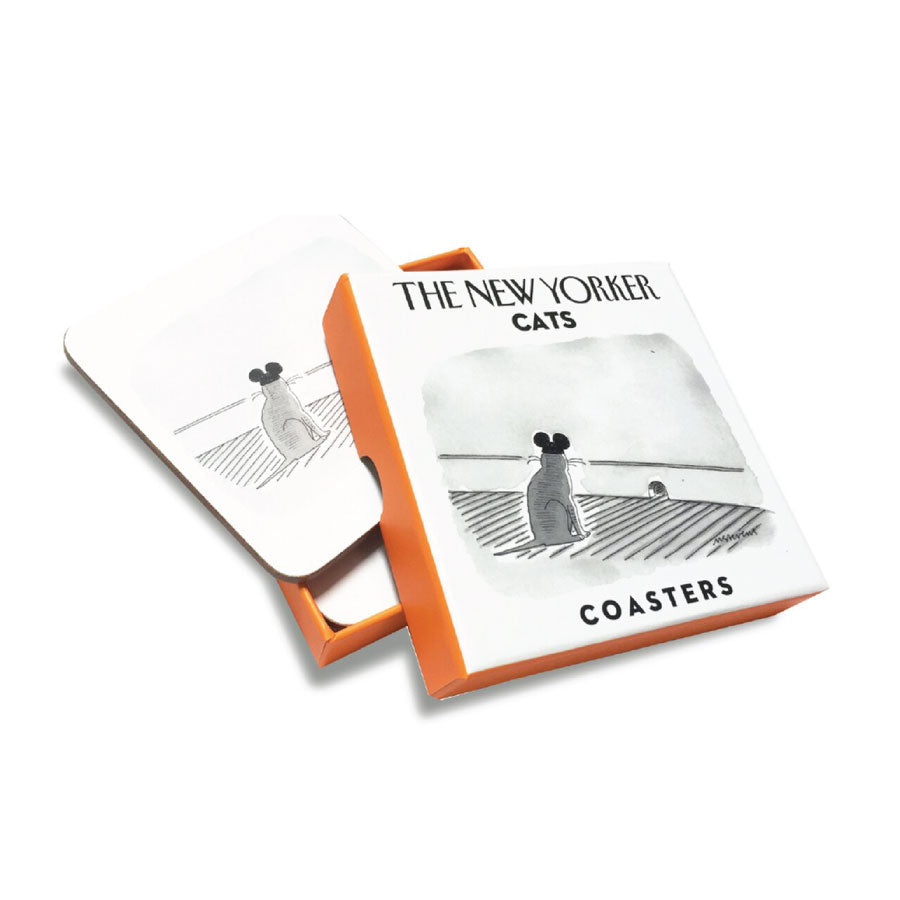 New Yorker Cat Coasters