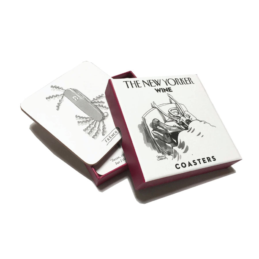 New Yorker Wine Coasters