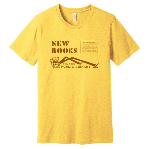 New Books: NYPL Vintage Inspired T-shirt