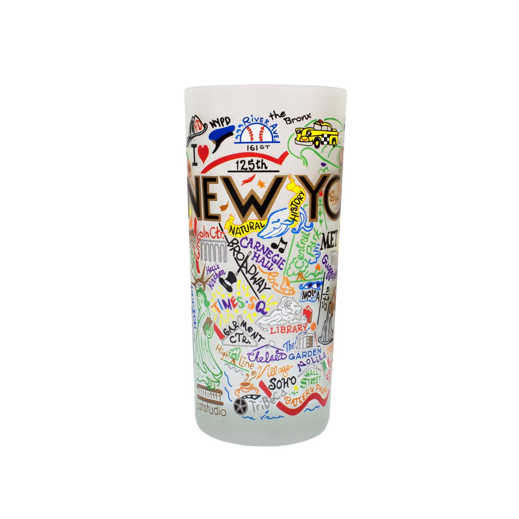 New York City Drinking Glass - The New York Public Library Shop