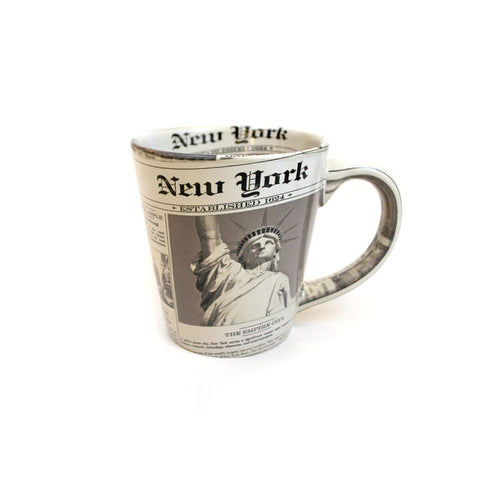 New York Newsprint Mug