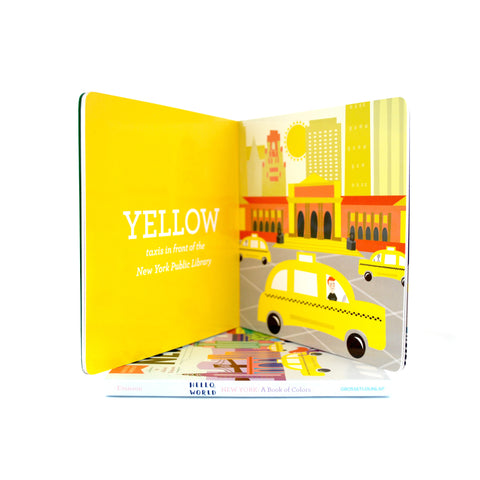 New York: A Book of Colors - The New York Public Library Shop