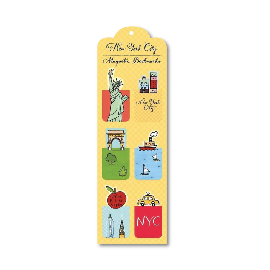 NYC Magnetic Bookmarks
