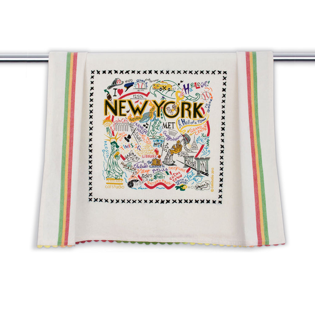 New York City Tea Towel - The New York Public Library Shop