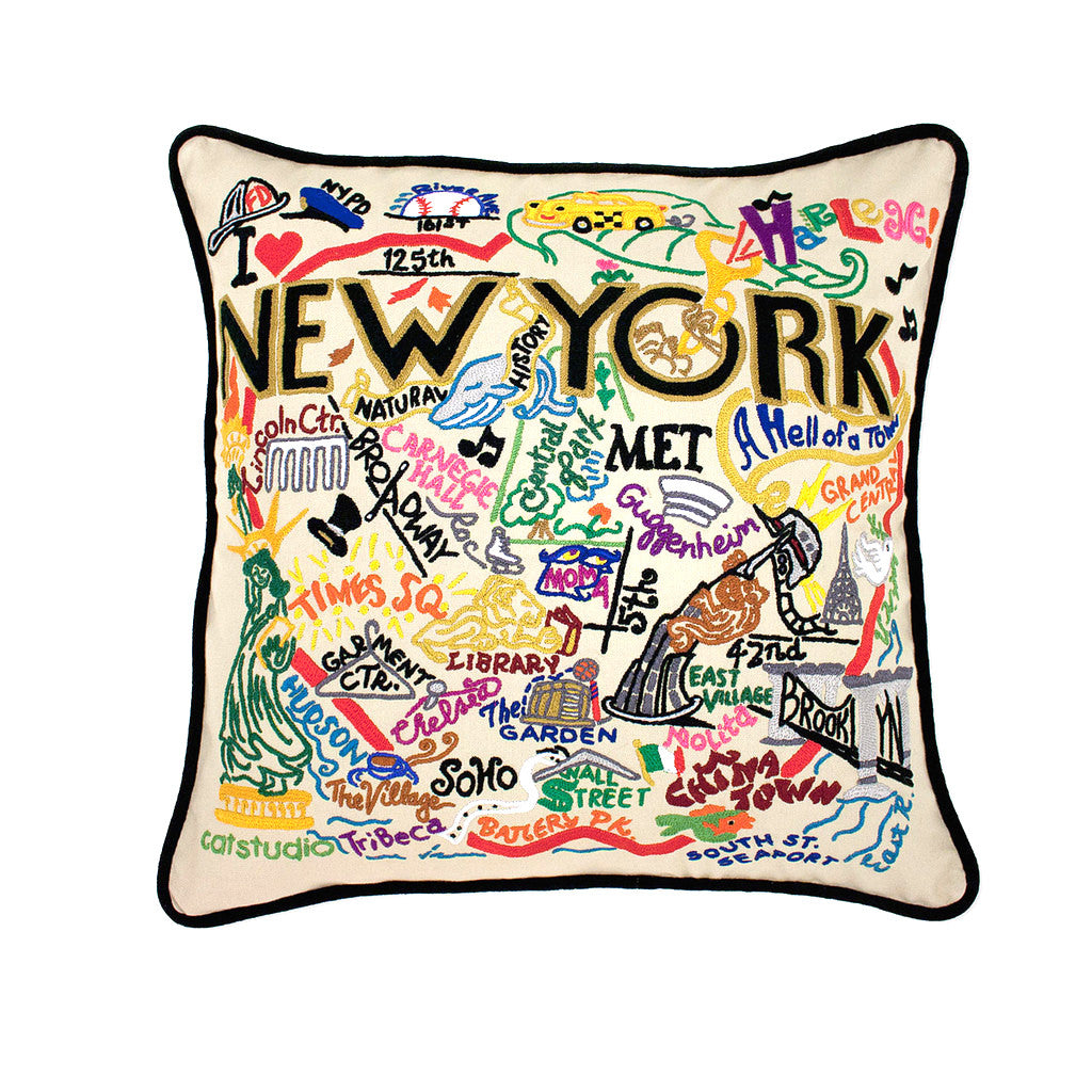 New York City Pillow - The New York Public Library Shop