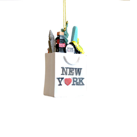 NYC Shopping Bag Ornament