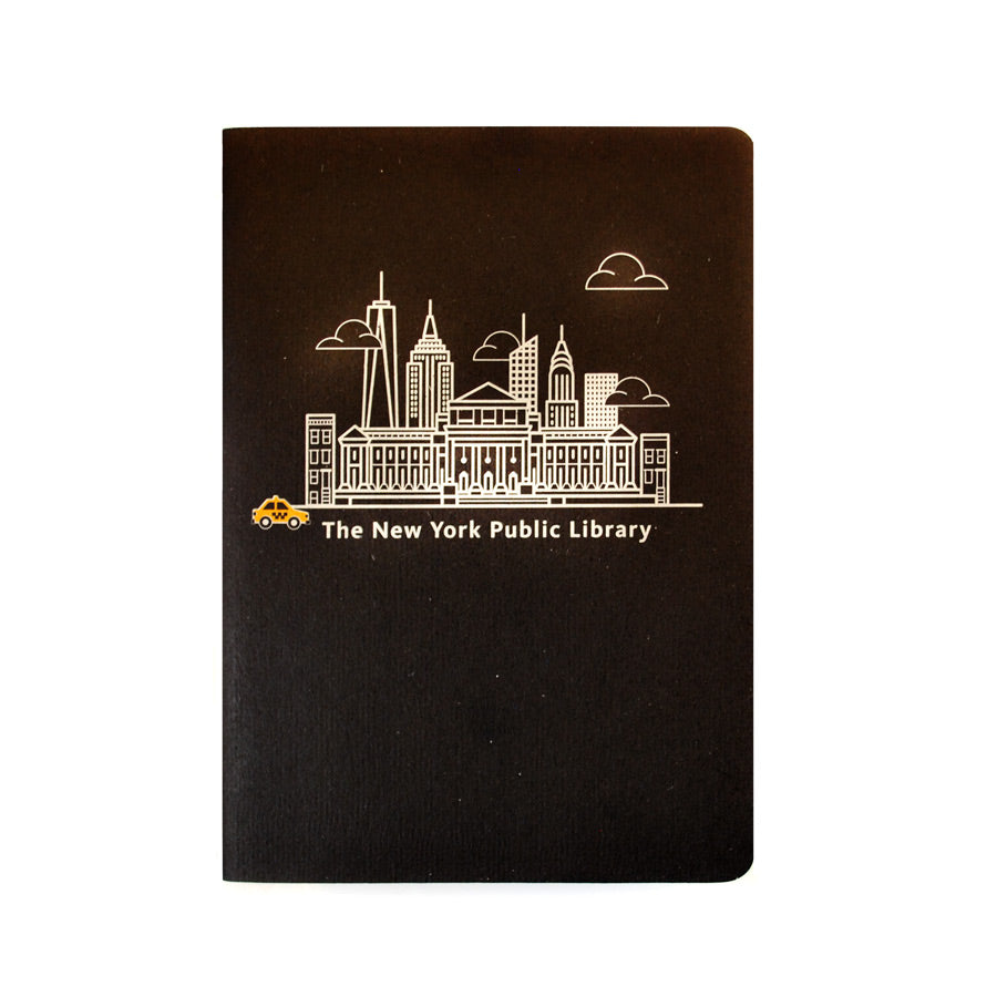 NYPL Skyline Notebook - The New York Public Library Shop