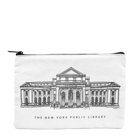 NYPL Building Pouch - The New York Public Library Shop