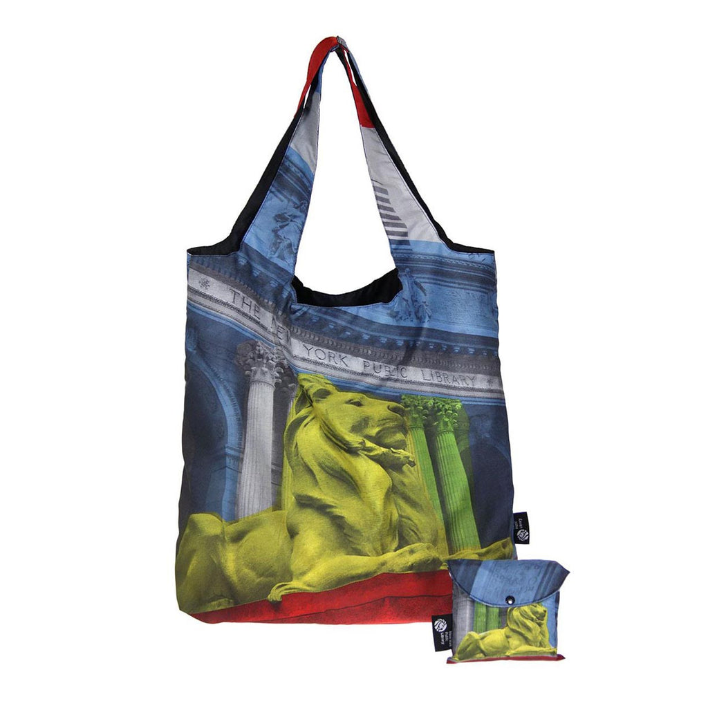 NYPL Folding Tote - The New York Public Library Shop