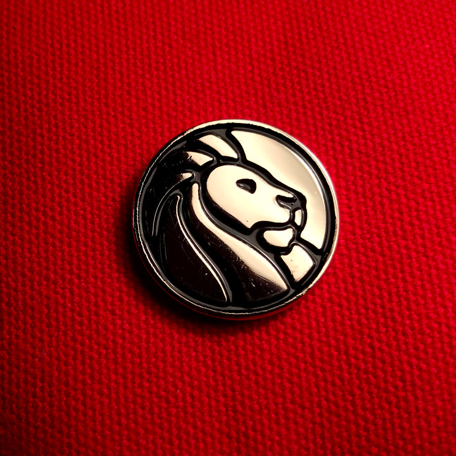 NYPL Logo Enamel Pin - The New York Public Library Shop