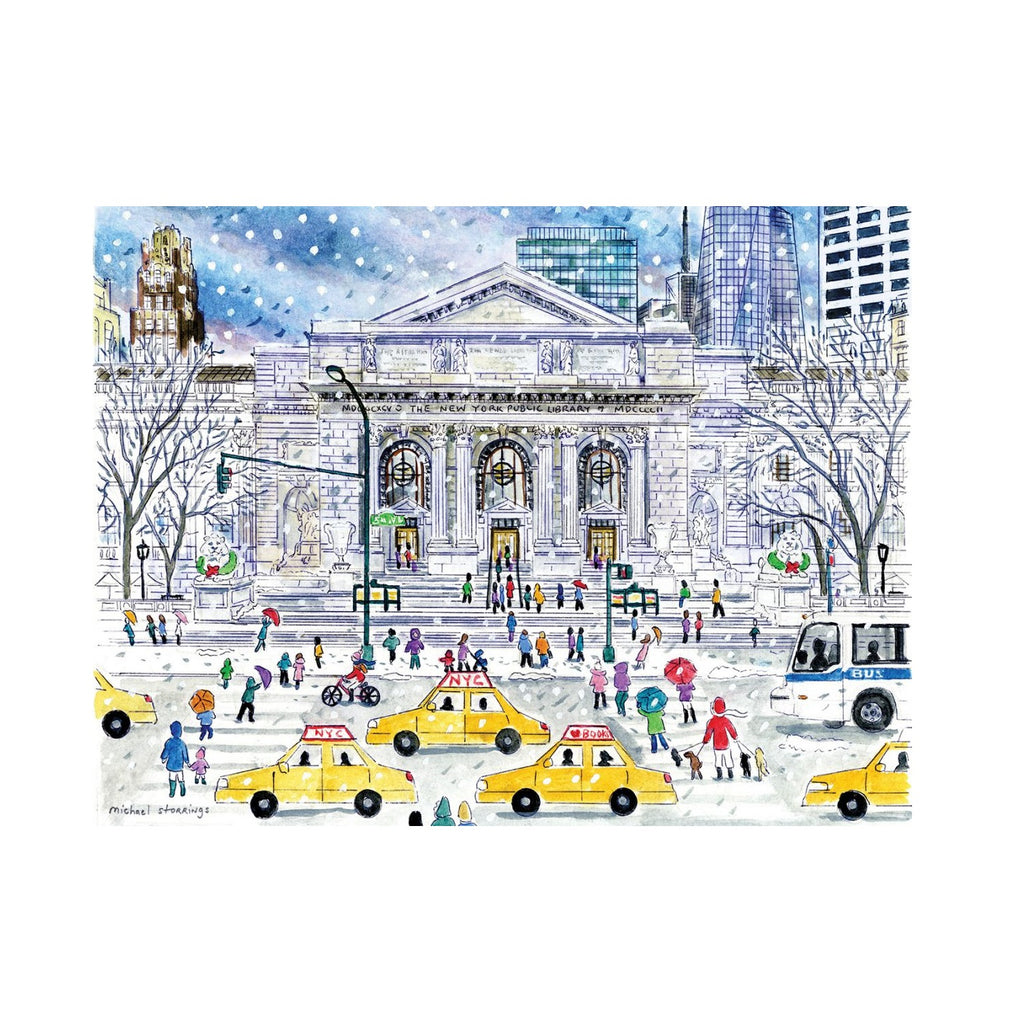 NYPL Michael Storrings Puzzle - The New York Public Library Shop