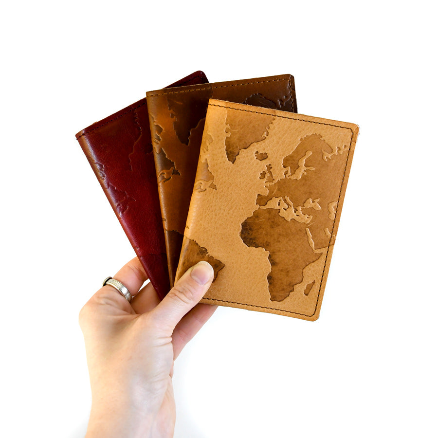 World Leather Passport Holder - The New York Public Library Shop