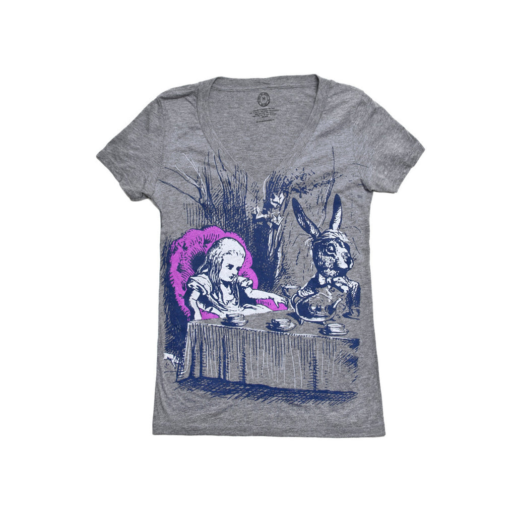 Ladies Alice in Wonderland T-Shirt - The New York Public Library Shop