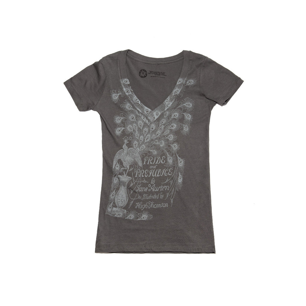 Ladies Pride and Prejudice T-Shirt - The New York Public Library Shop