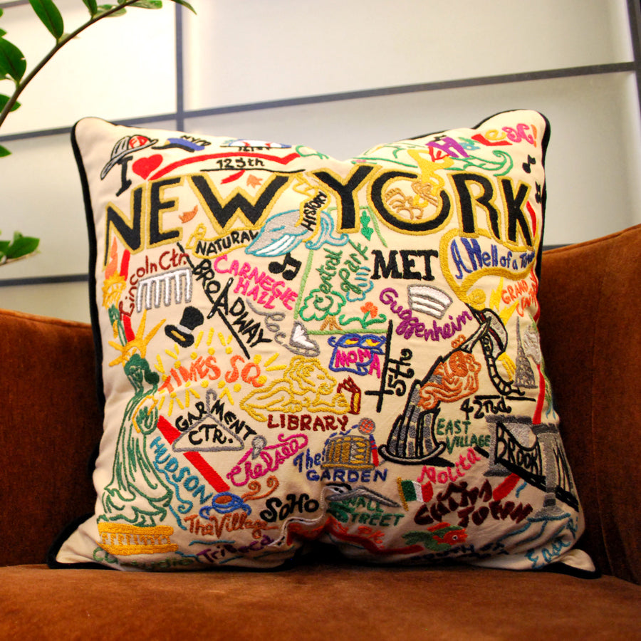 Swell New York City Pillow The New York Public Library Shop Alphanode Cool Chair Designs And Ideas Alphanodeonline