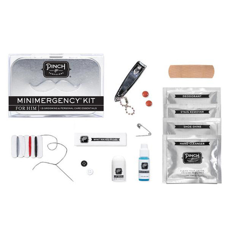 Men's Minimergency Kit - The New York Public Library Shop