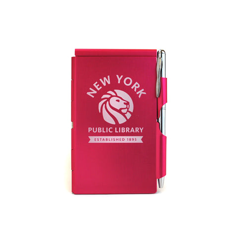 Pink NYPL Flipnotes / 3 Refill Pads Included