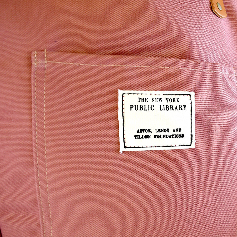 Clay Vintage NYPL Stamp Tote Bag - The New York Public Library Shop