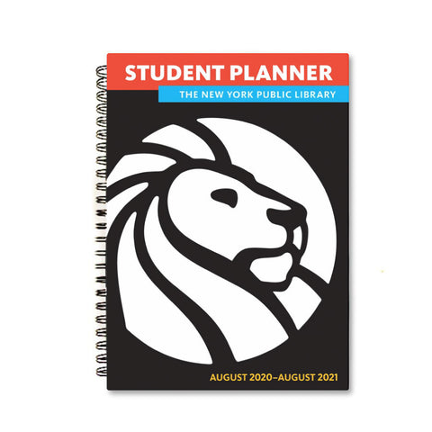 The New York Public Library 2020- 2021 Student Planner - The New York Public Library Shop