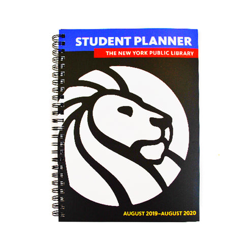 The New York Public Library 2019- 2020 Student Planner
