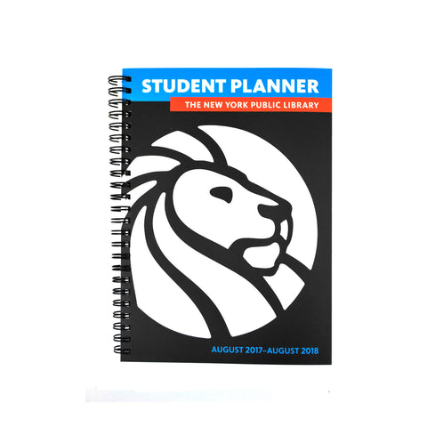 The New York Public Library 2017- 2018 Student Planner