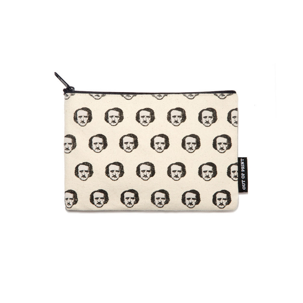 Edgar Allan Poe-ka Dot Pouch - The New York Public Library Shop