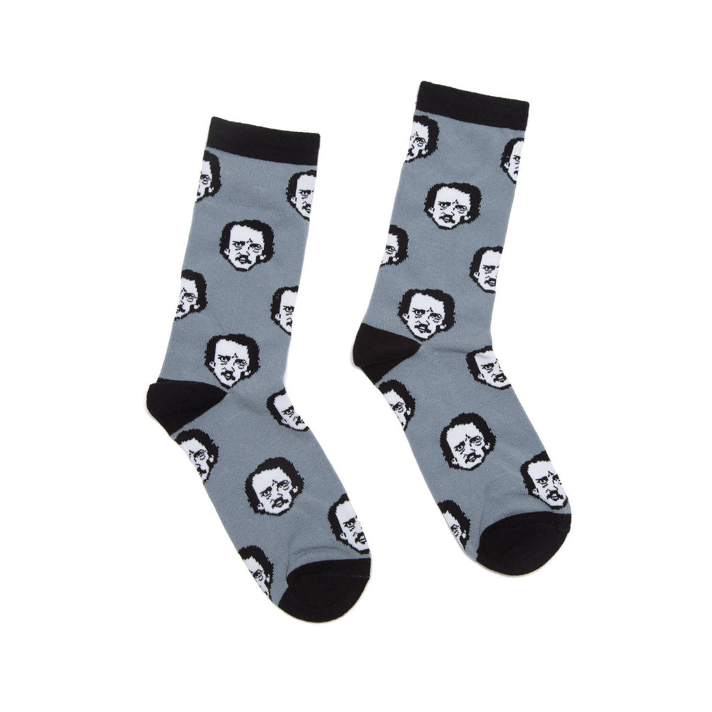 Edgar Allan Poe-Ka Dot Socks - The New York Public Library Shop