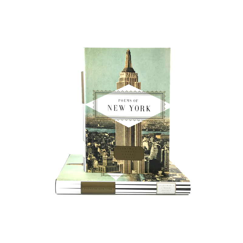 Cover features a picture of the Empire State Building. Title is in the center area.