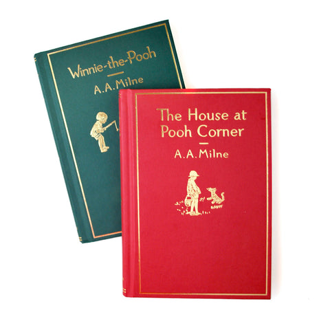 House on Pooh Corner and Winnie-the-Pooh Book Set