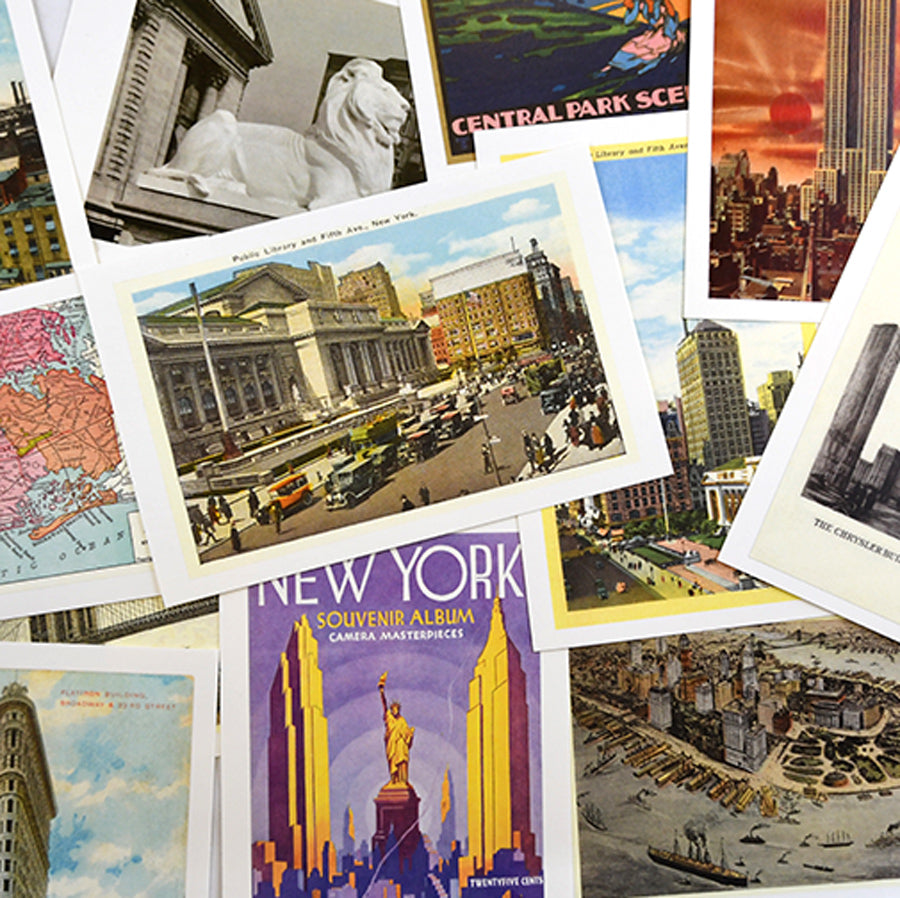 Vintage NYC Postcards Set