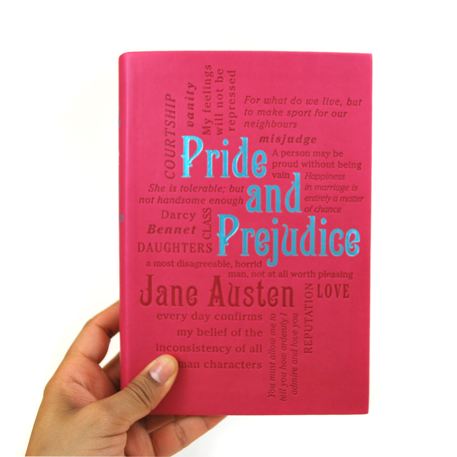 Pride and Prejudice - Word Cloud Classics - The New York Public Library Shop