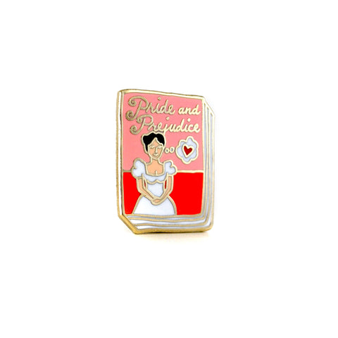 Pride and Prejudice Enamel Pin - The New York Public Library Shop