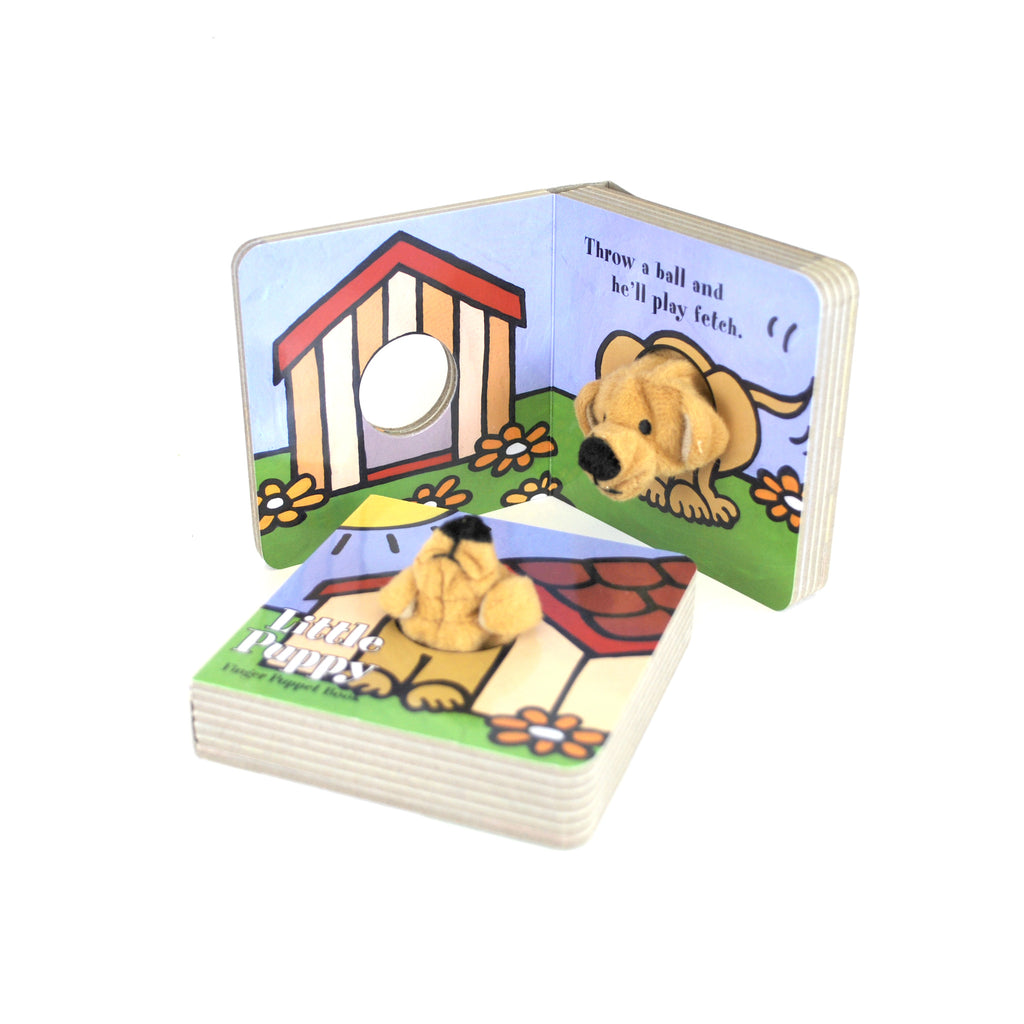 Little Puppy Finger Puppet Book - The New York Public Library Shop