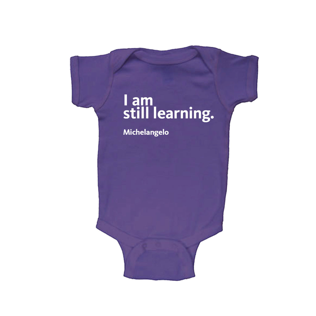 Michelangelo Quote Onesie