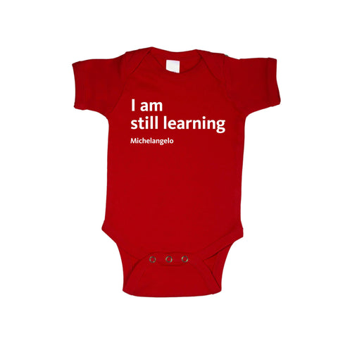 Michelangelo Quote Onesie - The New York Public Library Shop