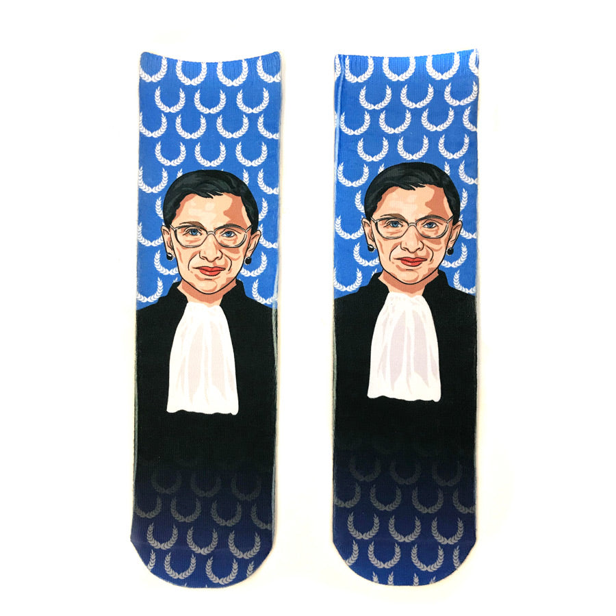 Ruth Bader Ginsburg Socks - The New York Public Library Shop