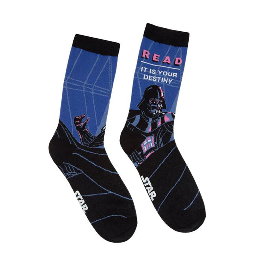 Darth Vader Star Wars READ socks - The New York Public Library Shop