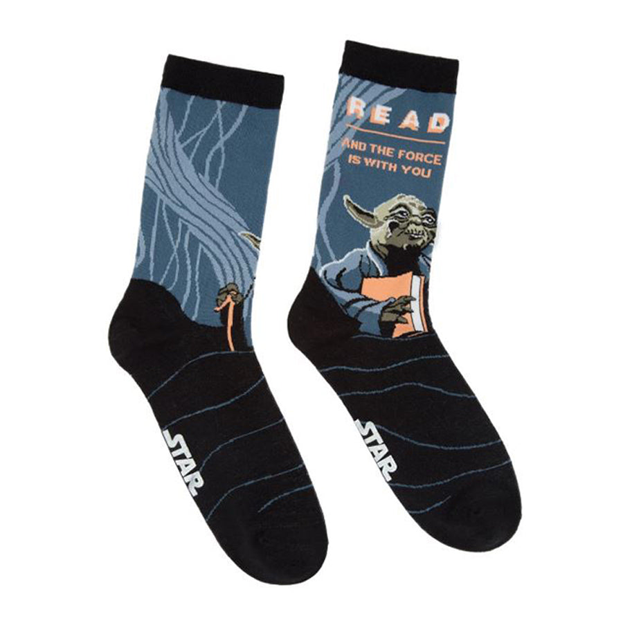 Yoda Star Wars READ Socks - The New York Public Library Shop