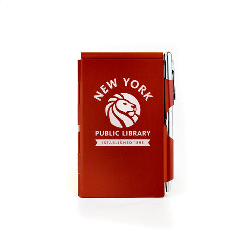 Red NYPL Flipnotes / 3 Refill Pads Included