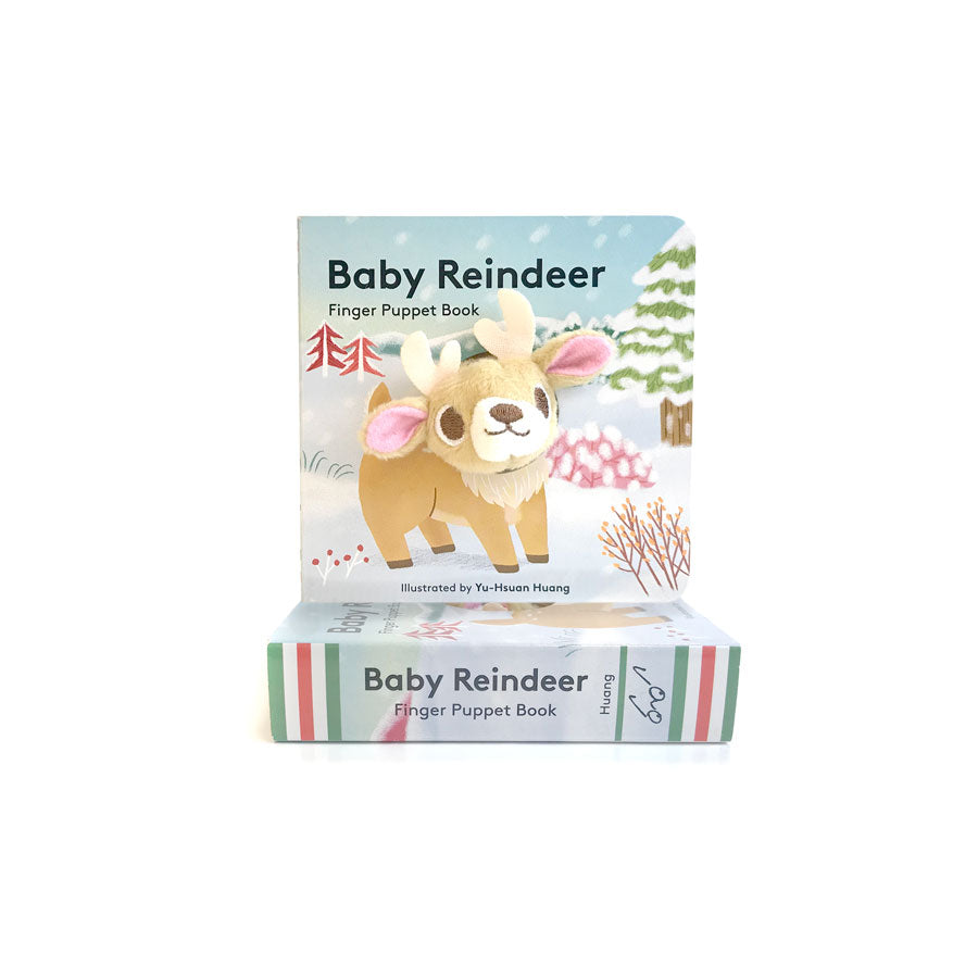 Baby Reindeer Finger Puppet - The New York Public Library Shop