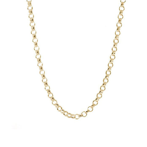 30'' Gold Rolo Chain