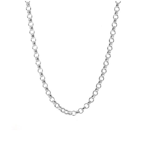 30'' Silver Rolo Chain - The New York Public Library Shop