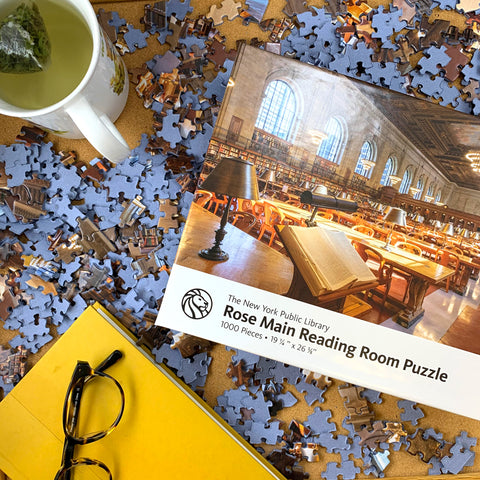 Rose Main Reading Room Puzzle - The New York Public Library Shop