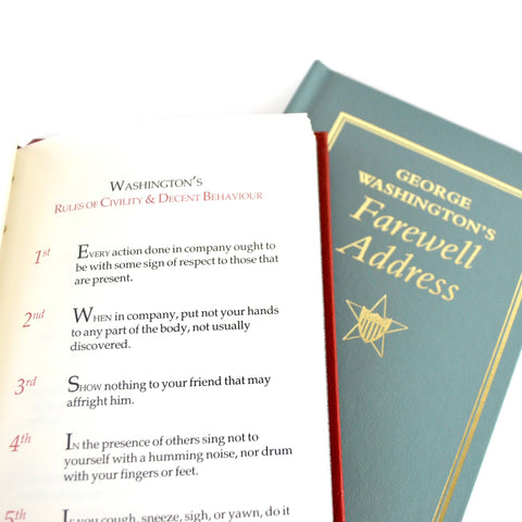 George Washington`s Rules of Civility and Farewell Address - The New York Public Library Shop