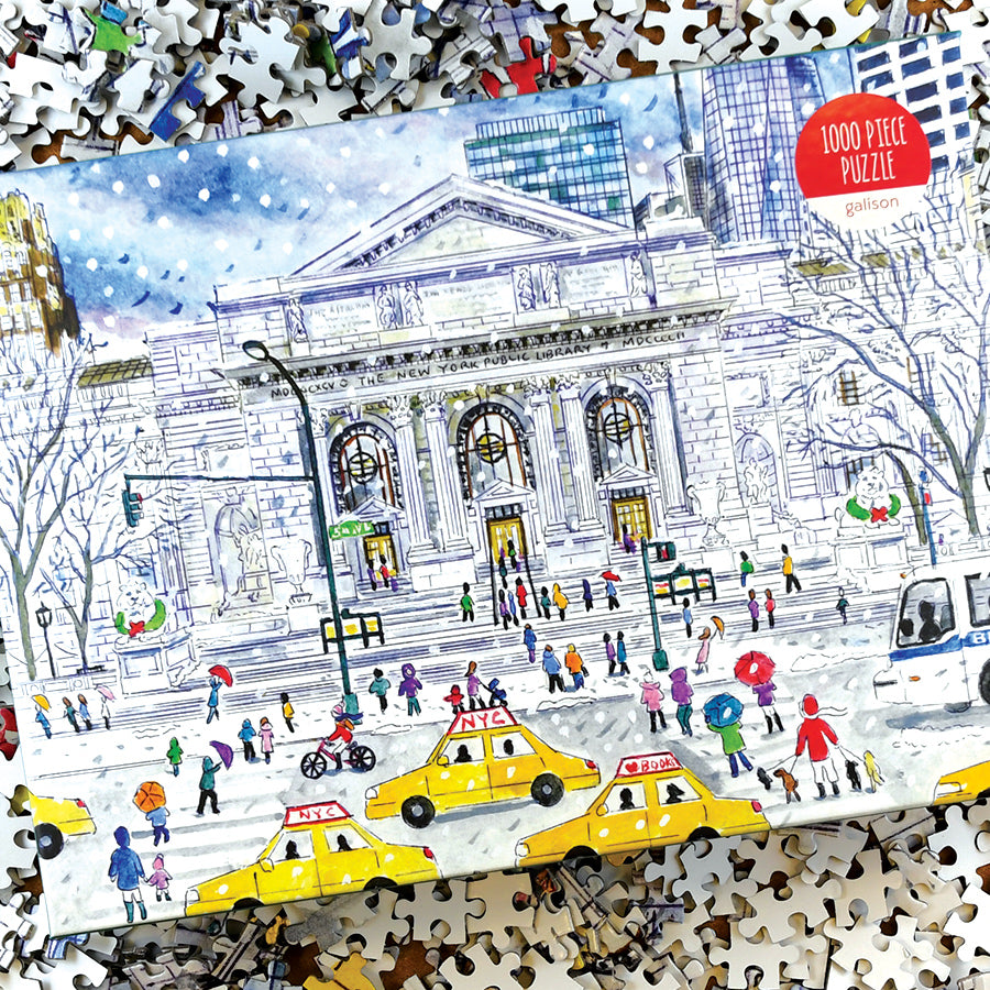 NYPL Michael Storrings's Puzzle