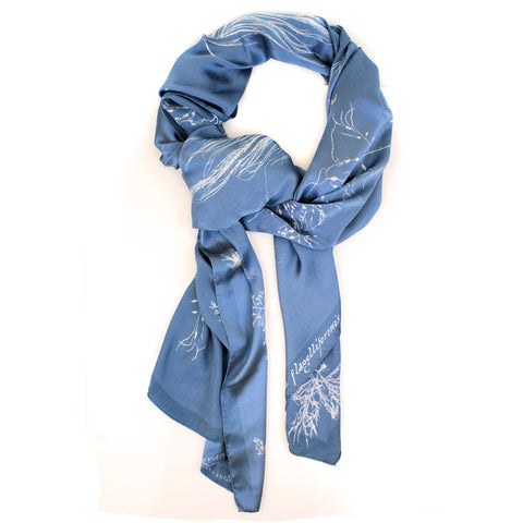 Anna Atkins Silk Scarf - The New York Public Library Shop