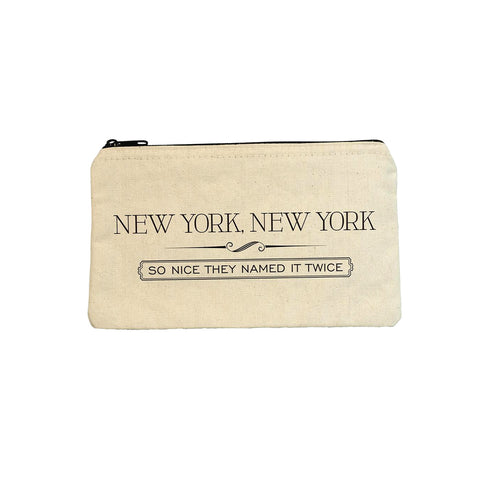 New York, New York Pouch