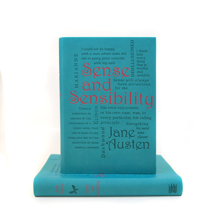 Sense and Sensibility - Word Cloud Classics - The New York Public Library Shop